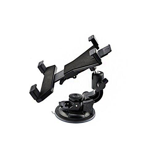Tellur Universele tablet-houder voor voorruit/hoofdsteun tot 25,4 cm (10 inch) zwart