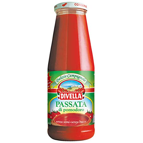 8x Divella Passata di Pomodoro Tomatenpaste Tomaten sauce 100% Italienisch 690g