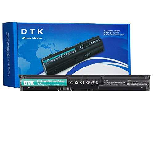 DTK RI04 RI06XL HSTNN-DB7B 805294-001 805047-851 Akku für HP ProBook 450 G3 G4 Series,455 G3 G4 Series,470 G3 G4 Series Notebook Laptop Li-ion Batterie (14.8V 2500mAh)