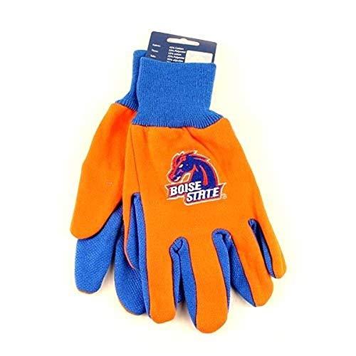 NCAA Boise State Broncos Two-Tone Gloves, Orange/Blue