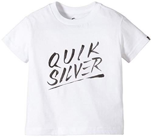 Quiksilver t-Shirt à Manches Courtes pour garçon modèle Classic t k thé a3 b Blanc Blanc 3