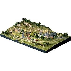 Woodland Scenics N Scale Scenic Ridge Layout Kit,-image