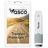 Vasco Traveler Premium 7' + Scanner: Voice Translator with Handheld Scanner, GPS, Travel Phone, Guide and More!