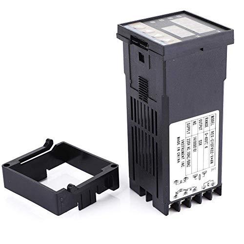 YELLAYBY Controlador de temperatura Control de control SSR Controlador de temperatura Termostato 0-400  AC220V