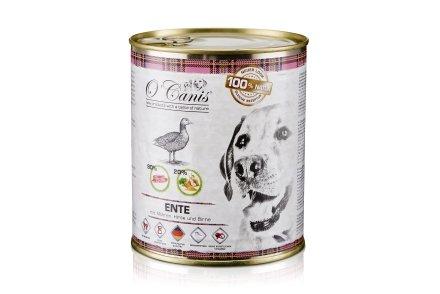 O´Canis Entenfleisch mit Hirse und Birne 6X 400g