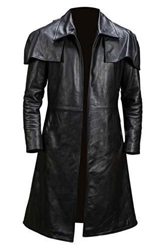 BFS Apparels Ranger Costume Armor Duster - Abrigo de piel para hombre, tamaño A7, Vegas, veterano