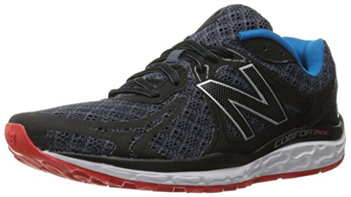 New Balance Men's 720v3 Running Shoe, Black/Grey, 9 D US