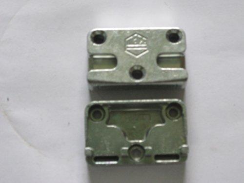 MACO Sicherheitsschließblech Typ 96884 Baugleich mit Nr 351886 und 96601B und 355683 silber