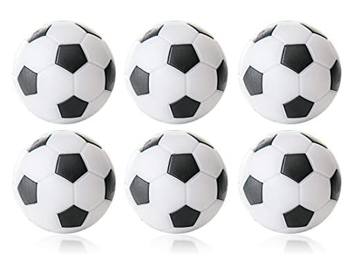 Wagner Automaten Pallone da calcio Winspeed in confezione blister – 6 pezzi con diametro 32 mm (bianco/nero)