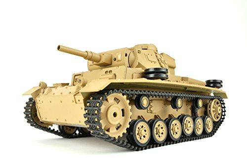 "Ferngesteuerter Panzer \""Tauchpanzer III\"" Deutsch 1:16 Heng Long -Rauch&Sound + Stahlgetriebe +2,4Ghz + V 6.0"