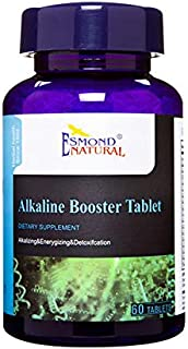 Esmond Natural: Alkaline Booster Tablet (Alkalizing, Energizing & Detoxification) 60 Tablets