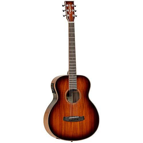Tanglewood - 'TW MINI E KOA' Winterleaf Series Travel Folk Size Electro Acoustic Guitar