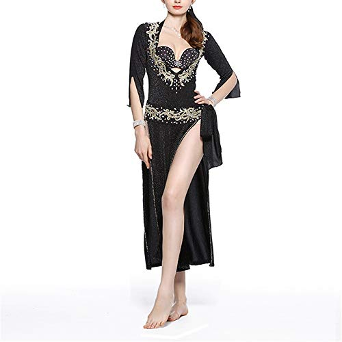 Jtoony Vestido de Baile Rendimiento Profesional Dancing Faldas Mujeres Sexy Belly Dance...
