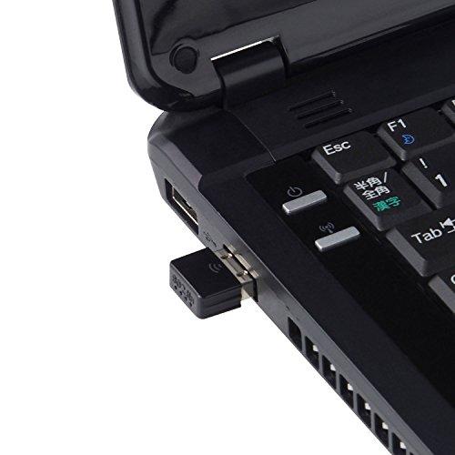 3Rスリー・アールシステム11n対応11g/b/n無線LAN子機[keeece]高速150mpsコンパクトサイズUSBアダプタ型ブラック3R-KCWLAN