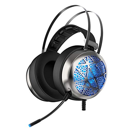 Gaming Headset with 4 Surround Sound Stereo Speakers, Mic and covid 19 (Xbox 360 Surround Sound coronavirus)