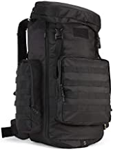 Backpacking Backpack, 60L/65L/70L/85L Waterproof MOLLE Rucksack Hiking Hunting