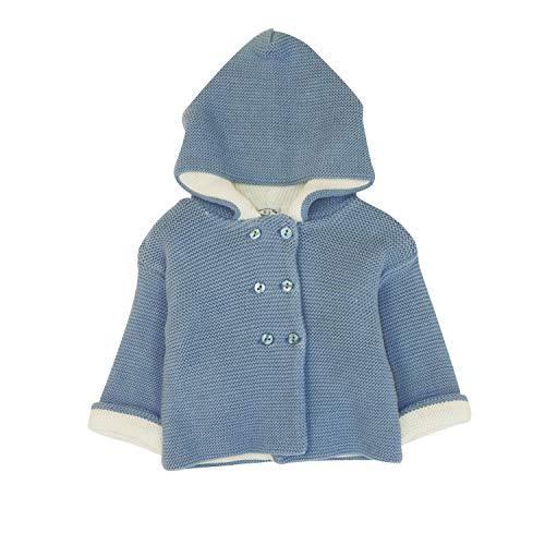 Charanga ADOBLE Chaqueta, Azul (Azul 720), 80 (Tamaño del Fabricante:12-18) para Bebés