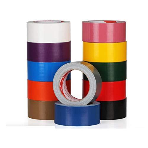 Sterk en krachtig gekleurd tapijt op textielbasis, eenzijdige, sterk klevende, brede naadtape-Witte breedte 4,5 cm * 10 meter lang