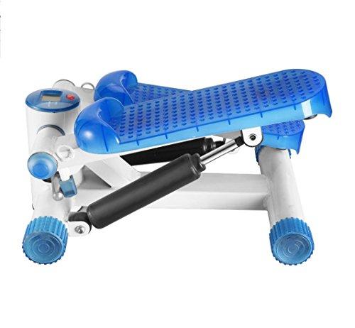 LMZZGAOYANQING Stepper fitness con resistenza bande LED display spettacoli portatile idraulica