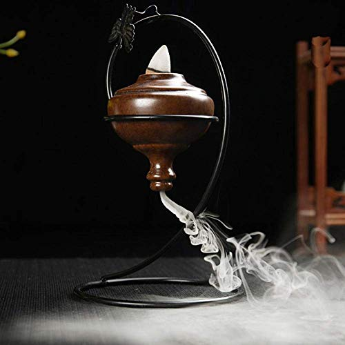 Discover Bargain Burner incense burner Incense Burner Frame Ceramic Cone Burner Creative Home Antiqu...