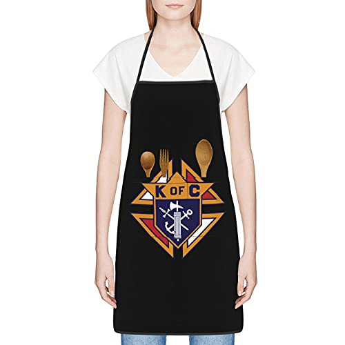 Knights Of Columbus Aprons For Men & Women Cooking, Grill Aprons Funny Gifts, Mothers Day Gifts