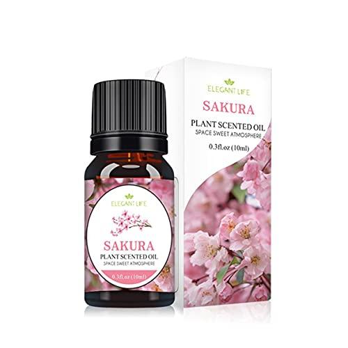 Libartly Aceite Esencial Pure Natural Osmanthus Rose Natural 10Ml Aceites Esenciales Puros Difusores De Aromaterapia Air Fresh Care - Flores De Cerezo