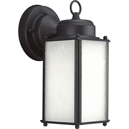 Progress Lighting P5985-31WB Transitional One Light Wall Lantern from Roman Coach Collection in Black Finish