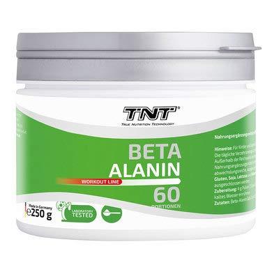 Hochwertiges Beta Alanin Pulver – Reines Carnosyn erhöht die Leistungsfähigkeit - 250g