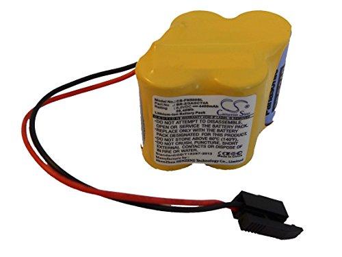 vhbw Li-Ioni Batterie 4400mAh (6V) per Ge Fanuc Amplifier Alpha iSV, Amplifier Beta iSV Come BR-2/3AGCT4A.