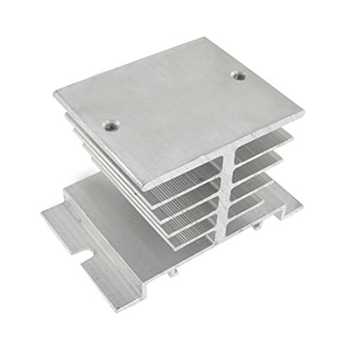 New Aluminum Heatsink Heat DissipationFor Solid State Relay SSR