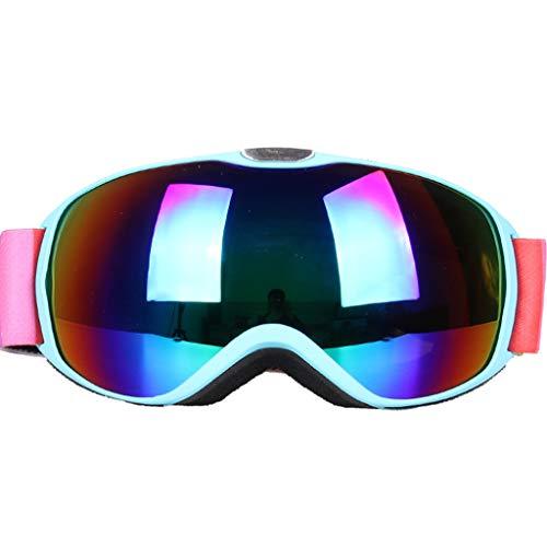 Lsrryd Ski Goggles Professionele Snowmobile Snowboard Skate en Super Wide Hoek Dubbele Lens Anti-mist Grote Sferische Unisex Volwassene Multi kleuren