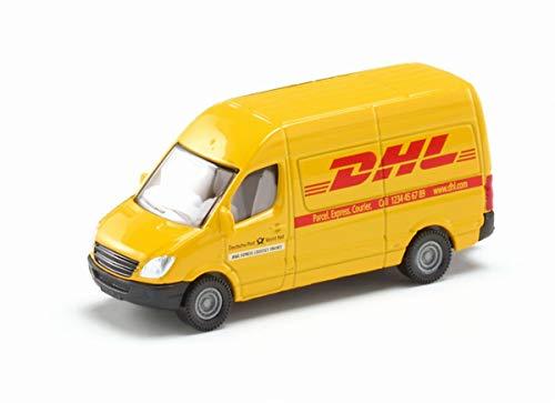 siku 1085, Postwagen, Metall/Kunststoff, Gelb, DHL-Optik, Vielseitig einsetzbar