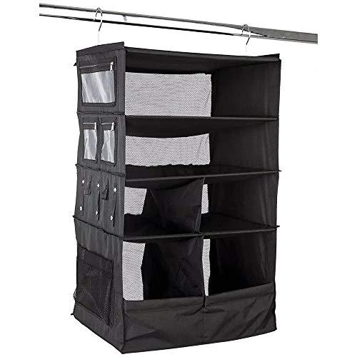 Organizzatore da valigia per vestiti, organizzatore da appendere porta accessori e vestiti e abiti, inserto per valigia da appendere alla gruccia