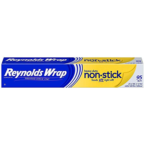 Reynolds Wrap Non-Stick Heavy Duty Aluminum Foil - 95 Square Feet (Limited Edition)