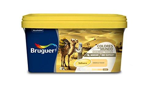 Bruguer 5056897 - Colores del mundo Sáhara AMARILLO suave 4 L