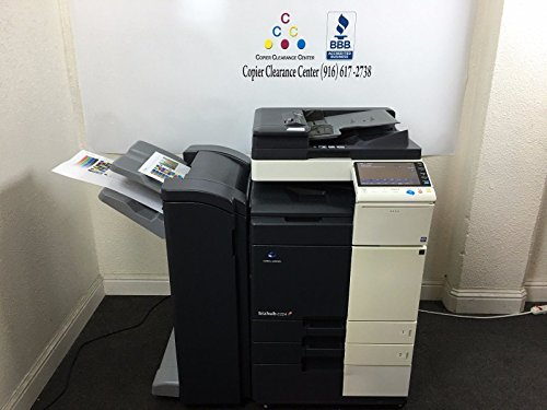 Best Price Konica Minolta Bizhub C224 Copier Printer Scanner Finisher Low 89k w/ 7k Color