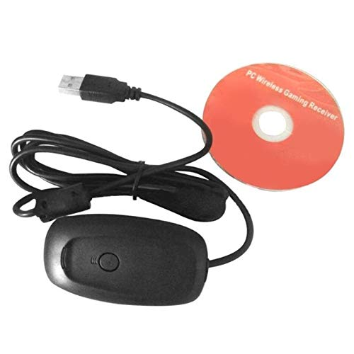 FSLLOVE FANGSHUILIN Adaptador de PC de Gamepad inalámbrico Ajuste del Receptor USB for Microsoft Xbox 360 Game Console Controller PC Receptor Accesorios de Juegos