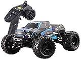 Mopoq RC Car 2.4Ghz 40 kilometros de radio control escala 1:16 de alta velocidad + / H control remoto camión todo terreno, Electronic Monster Truck Esquí de coche for niños y adultos 21.5 * 17cm