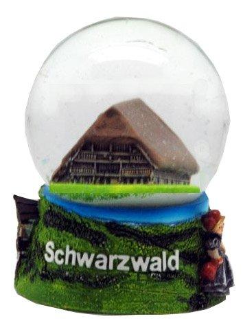 30029 Souvenir Schneekugel Schwarzwald Vogtsbauernhof 65mm Durchmesser