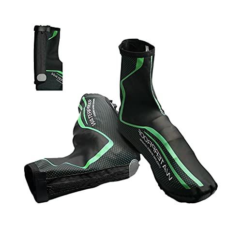 Copriscarpe impermeabile e antivento, copriscarpe da ciclismo Adatto per ciclismo, corsa, mountain bike, copriscarpe da uomo caldo invernale