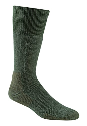 FoxRiver 6068 Socken für Erwachsene bei kaltem Wetter, 3er-Pack, schwere Thermosocken mit hervorragender Feuchtigkeitstransportfähigkeit, Blattgrün