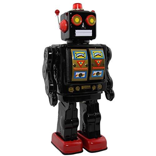 Superfreak Roboter - Electron Robot - schwarz - Blechroboter - Retro Blechspielzeug