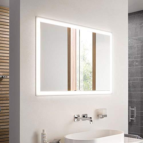 EMCO ASIS LED-Spiegelschrank PRIME, UP 1200 mm, 2-türig, Rückwand weiß, Farbwechsel, HSN 949706174