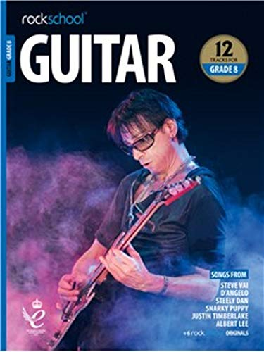 ROCKSCHOOL GUITAR GRADE 8 2018 BOOKAUDIO