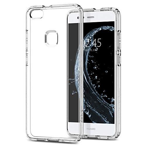 Spigen [Liquid Crystal] Huawei P10 Lite Hülle (L14CS21509) Transparent Silikon Handyhülle Passgenau Durchsichtige Schutzhülle Case (Crystal Clear)