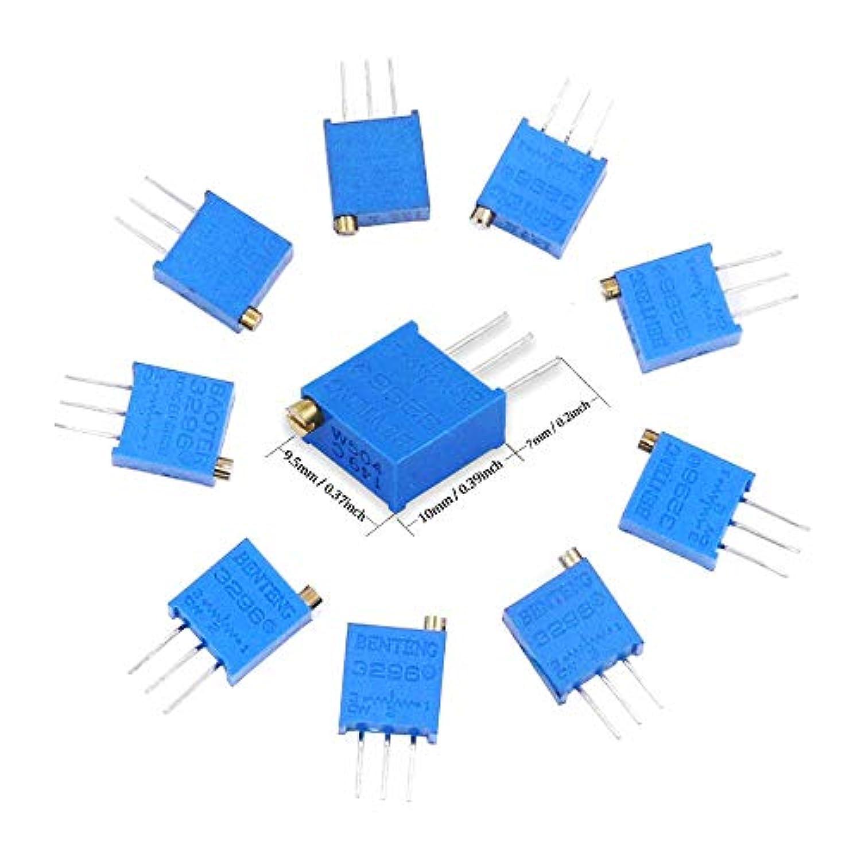 BE-TOOL Lot de 600 r/ésistances assorties en m/étal 10 r/ésistances /électroniques ignifuges