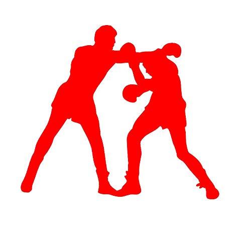 Zaosan Boxhandschuhe Aufkleber Kick Boxer Spielen Auto Aufkleber