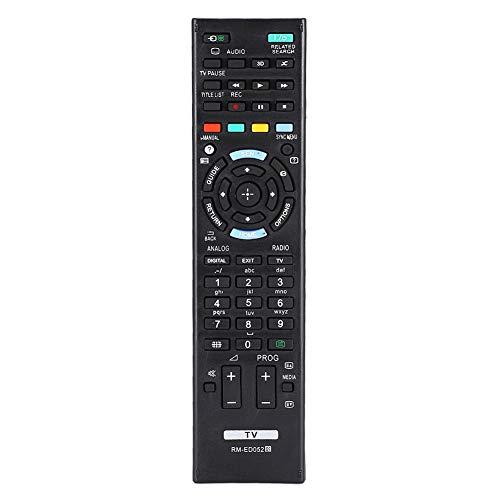 ASHATA Control Remoto de TV Sony, reemplazo del Controlador de Control Remoto de TV para Sony RM-ED052 RM-ED050 RM-ED053 RM-ED060, Control Remoto Resistente al Desgaste con sensación cómoda en la
