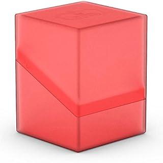 Ultimate Guard Boulder Deck Case, 100 Plus, Standard Size, Ruby