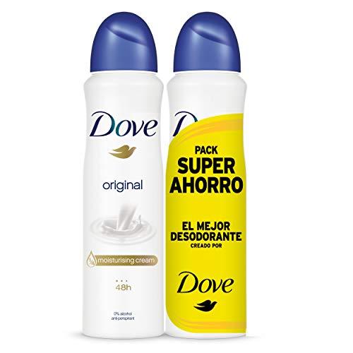 Dove - Pack Ahorro Desodorante Original, 200 ml